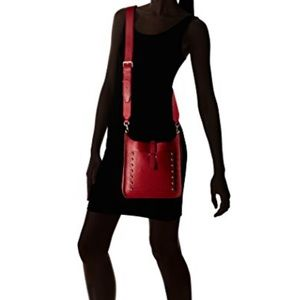 Rebecca Minkoff Small Unlined Red Feed Bag